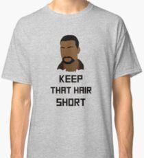 "The Walking Dead Game - ""Keep that hair short"" - Lee Everett Classic T-Shirt"