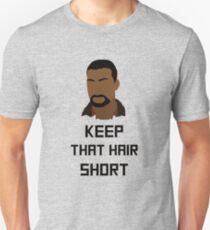 "The Walking Dead Game - ""Keep that hair short"" - Lee Everett Unisex T-Shirt"