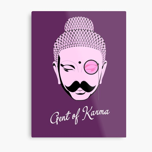 Gent Of Karma Metal Print