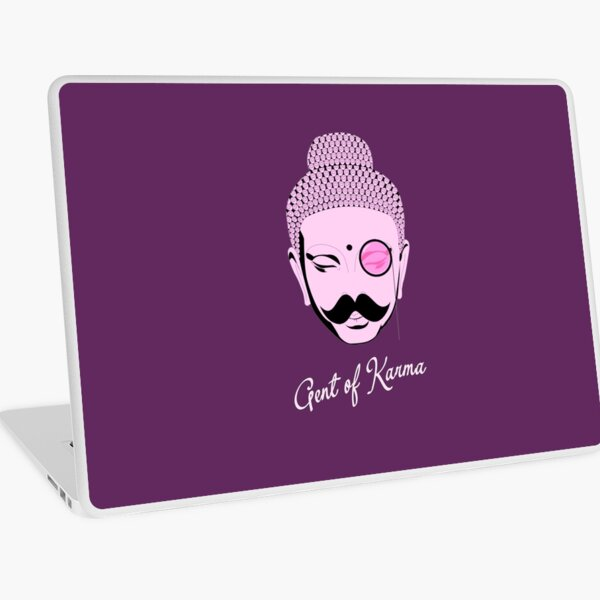 Gent Of Karma Laptop Skin