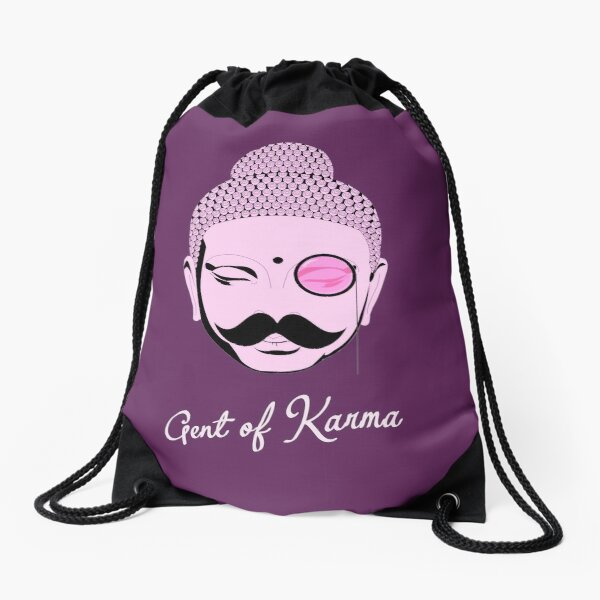 Gent Of Karma Drawstring Bag