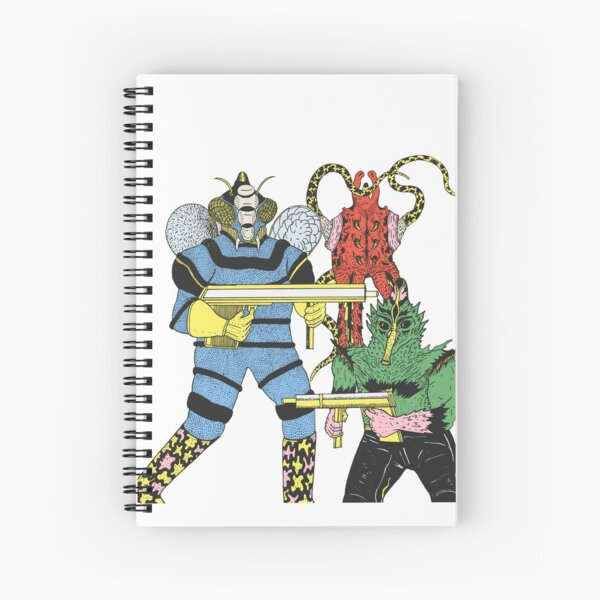 Alien Invaders Spiral Notebook