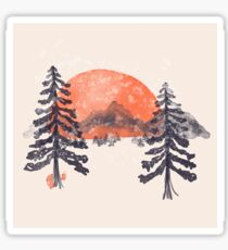 First Snow... Sticker