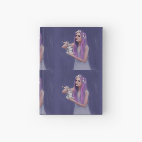 Tea with dolly  Hardcover Journal