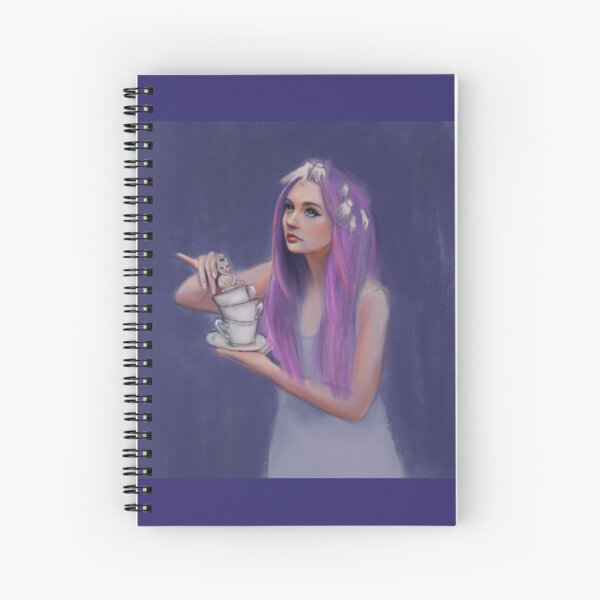 Tea with dolly  Spiral Notebook