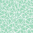 Abstraction Outline Thick Mint by ProjectM