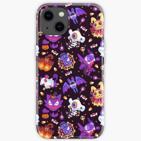 Halloween Pokes iPhone Soft Case