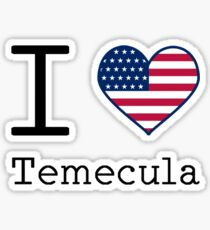 I love Temecula Sticker