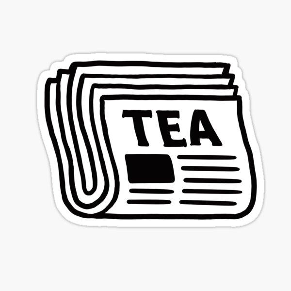 NEWSPAPER - TEA Sticker