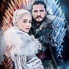 «La reina del fuego y el rey de hielo.» de Vera-Adxer