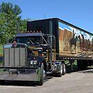 Smokey & the Bandit Tribute Kenworth Semi Truck by TeeMack