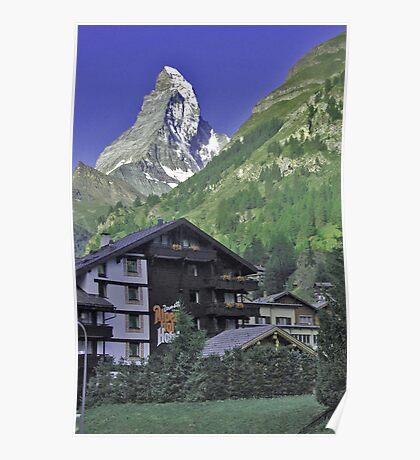 The Matterhorn, Zermatt, Switzerland. Poster