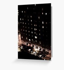Life on East 12th and Chester Greeting Card