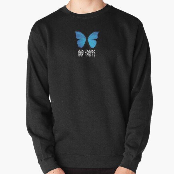 Butterfly Bad Habits Pullover Sweatshirt