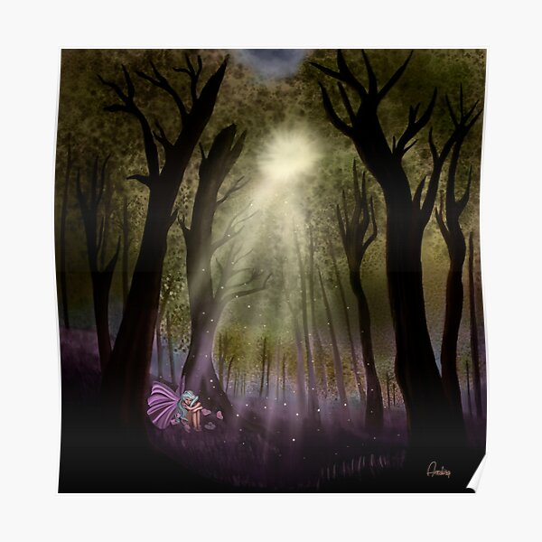 enchanted woodland Poster