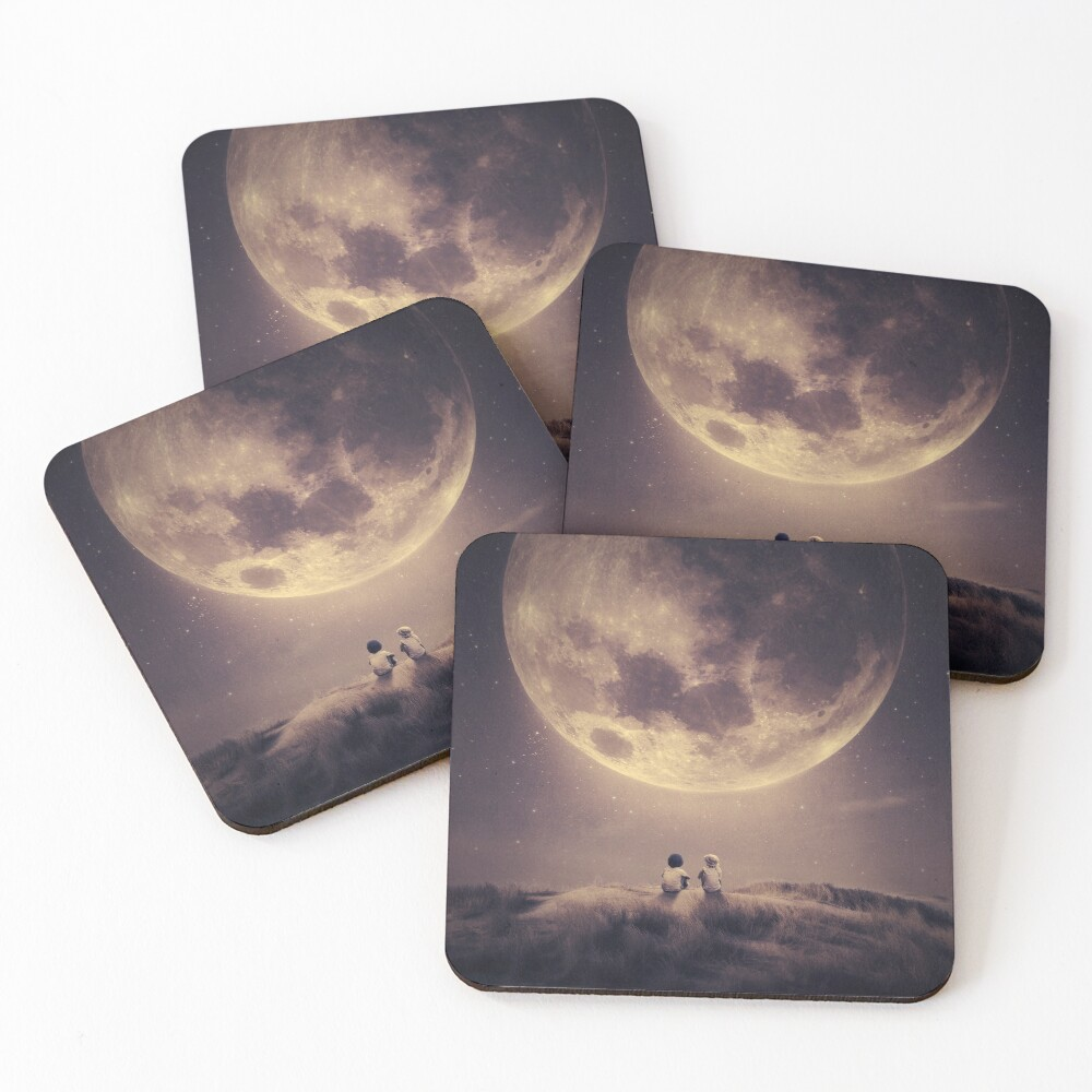 Where we tell our stories Coasters (Set of 4)