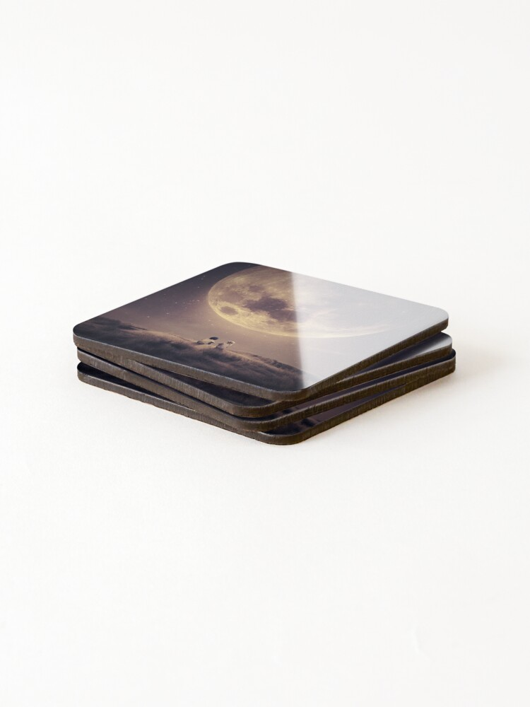 Alternate view of Where we tell our stories Coasters (Set of 4)