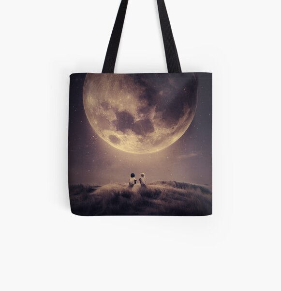 Where we tell our stories All Over Print Tote Bag
