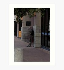 Street person Known as Chicago Art Print