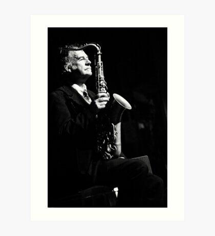 Jazz in the veins Art Print