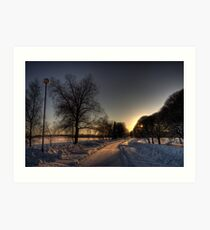 Winter Moods I Art Print