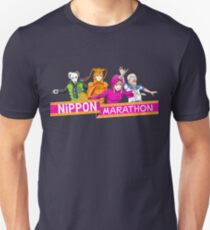 Nippon Marathon: All Four Contestants Unisex T-Shirt