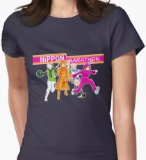 Nippon Marathon: I can't choose who's my favourite! Women's Fitted T-Shirt