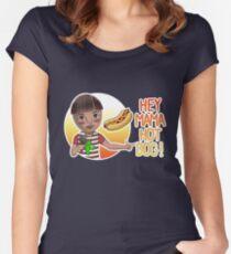 Nippon Marathon: Jack Cactus Women's Fitted Scoop T-Shirt