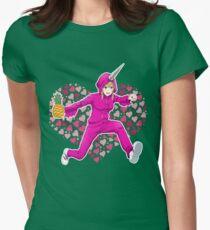 Nippon Marathon: Nishibori Love Women's Fitted T-Shirt