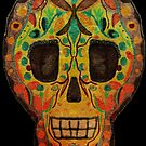 Painted Skull by Deana Greenfield