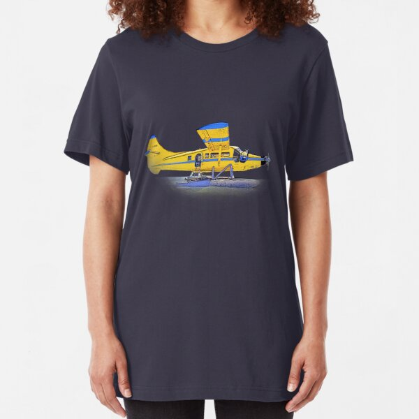 Float Plane Slim Fit T-Shirt