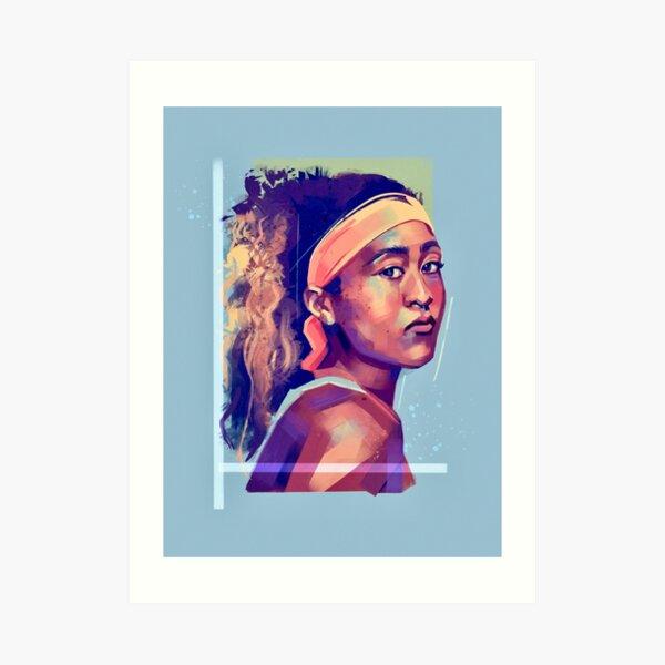 Naomi Osaka Art Print