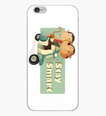 Stay Smart Scooter Monkeys iPhone Case
