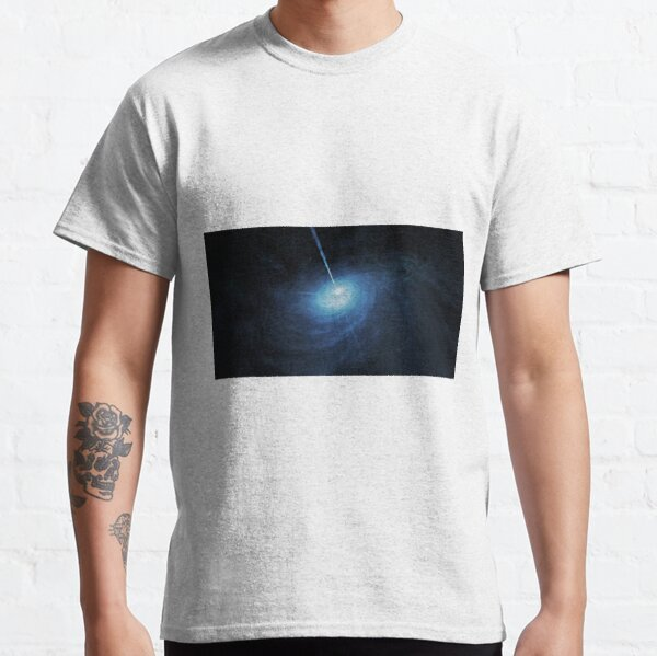 astronomy, galaxy, fantasy, motion, science, abstract, energy, space, blur, moon Classic T-Shirt