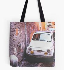 Oldschool Fiat 500 Tote Bag