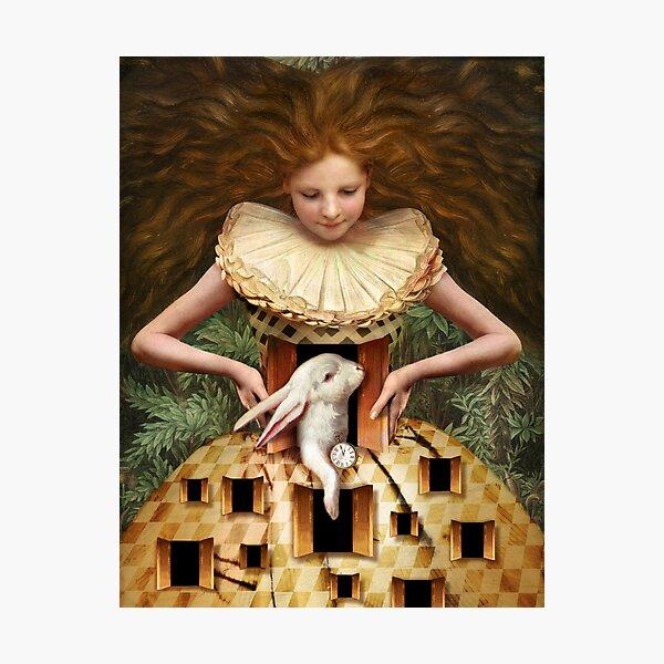 Hello Alice Photographic Print