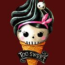Hallowwen Skull Ice Cream by colonelle