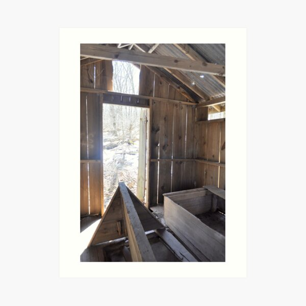 Inside Looking Out - Mt. Gretna, PA Art Print