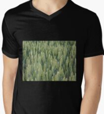 Wheat Mens V-Neck T-Shirt