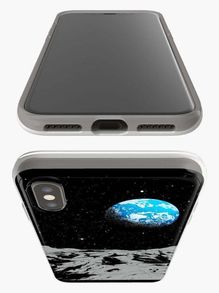 Alternate view of From the Moon iPhone Case & Cover