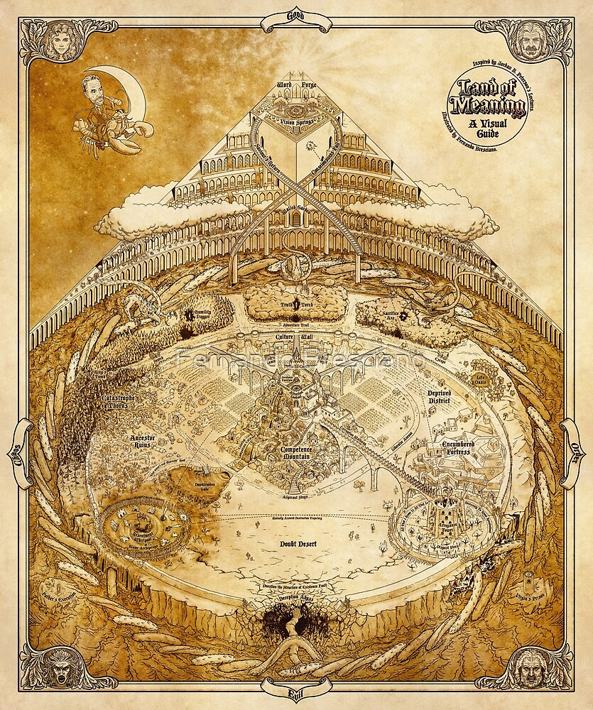 Land der Bedeutung - Traditionell von Fernando Bresciano