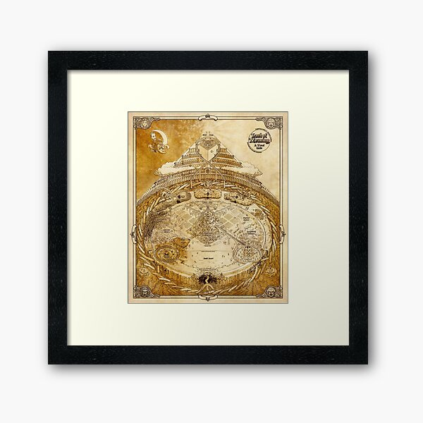 Land of Meaning - Traditional Framed Art Print