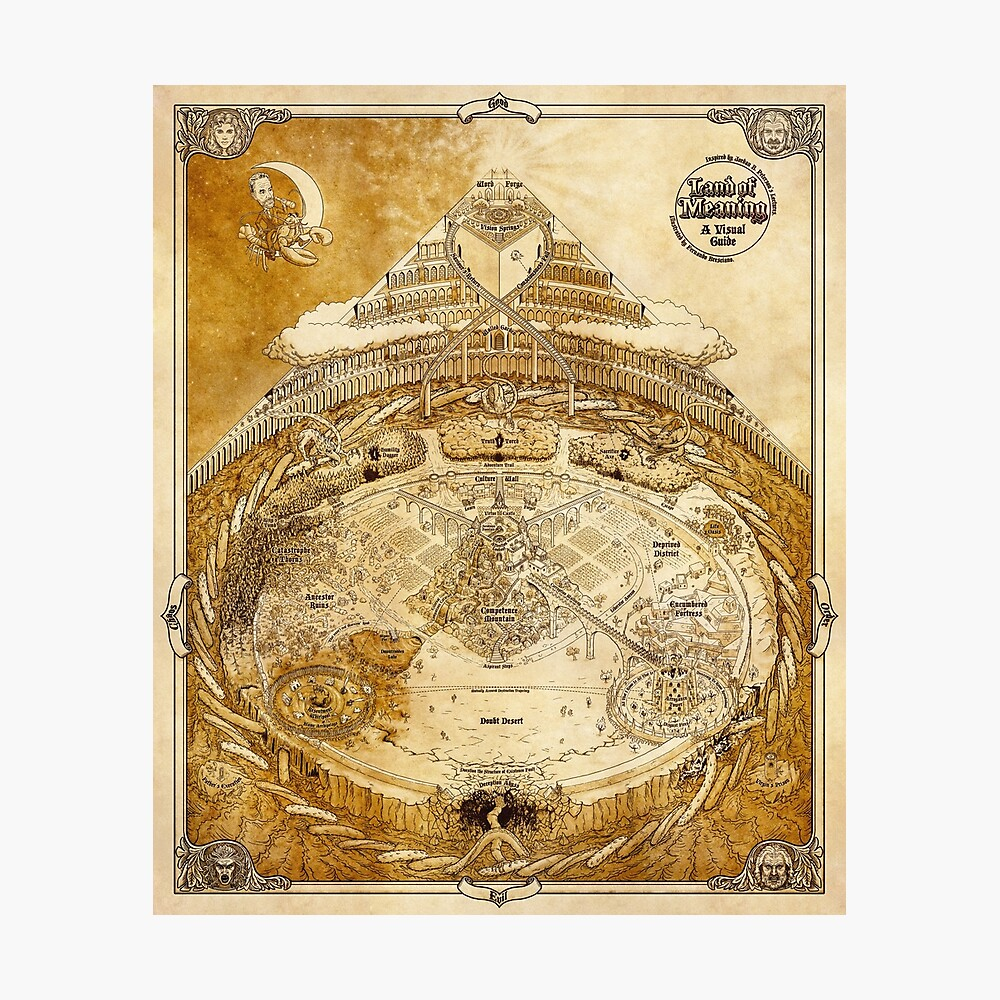 Tierra de Significado - Tradicional Lámina fotográfica