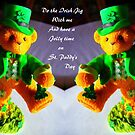 Irish Jig..St Patrick's Day card by MaeBelle