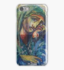 HOLLY MOTHER MARY(SKETCH)(2011) iPhone Case/Skin