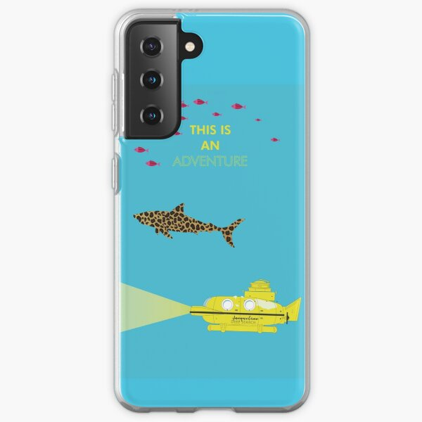 the life aquatic with steve zissou, wes anderson Samsung Galaxy Soft Case