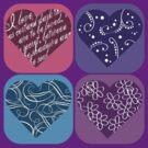 hearts, once again by sabrina card