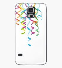 Karneval Luftschlangen Dekoration Silvester  Hülle & Skin für Samsung Galaxy
