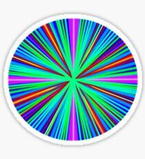 Neon Circle Sticker