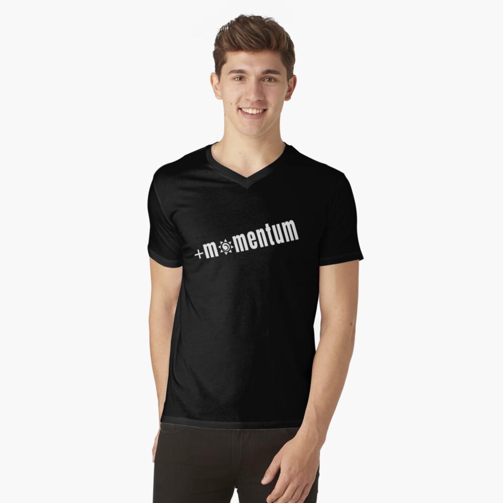 Positive Momentum - Start Each Day Out Positively V-Neck T-Shirt